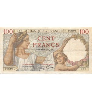 FRANCE - 100 FRANCS SULLY...