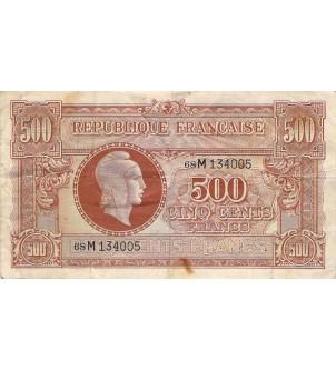 BILLET DU TRESOR - 500...