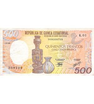 GUINÉE ÉQUATORIALE - 500...