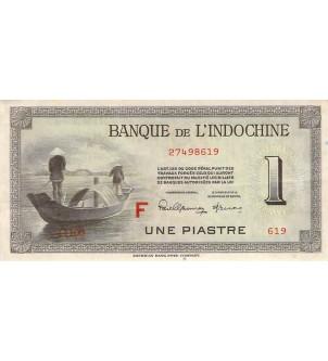INDOCHINE - 1 PIASTRE 1951...