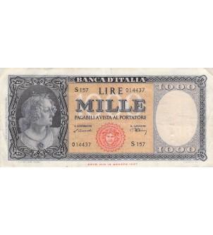 ITALIE - 1000 LIRE 10/02/1948
