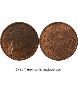 DUPUIS - 2 CENTIMES 1914