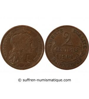 DUPUIS - 2 CENTIMES 1902