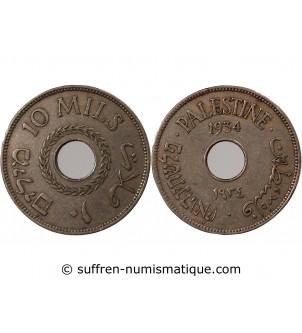 PALESTINE - 10 MILS 1934