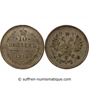 RUSSIE, NICOLAS II - 10...