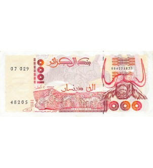 ALGERIE - 1000 DINARS...