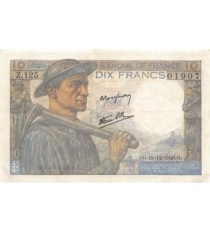 FRANCE - 10 FRANCS MINEUR...