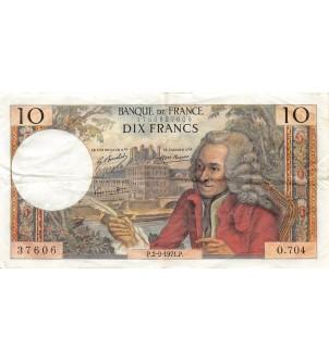 FRANCE - 10 FRANCS VOLTAIRE...