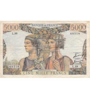 FRANCE - 5000 FRANCS TERRE...