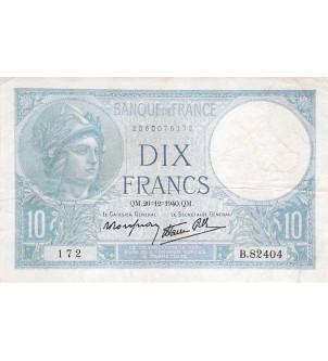 FRANCE - 10 FRANCS MINERVE...