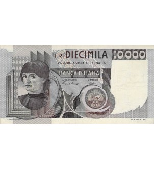 ITALIE - 10000 LIRE 03/11/1982