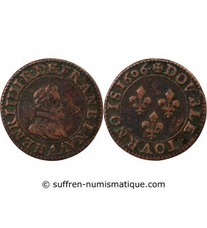 HENRI IV - DOUBLE TOURNOIS...