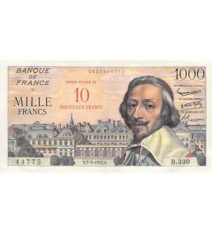 FRANCE, RICHELIEU - 10 NF /...