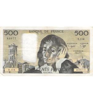 FRANCE - 500 FRANCS PASCAL...