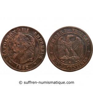 2 CENTIMES NAPOLEON III...