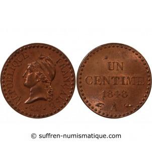DUPRÉ - 1 CENTIME 1848 A PARIS