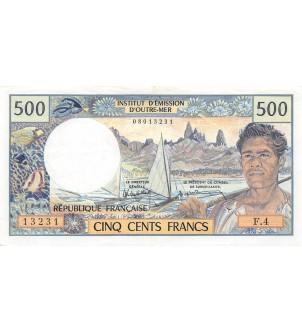 TAHITI - 500 FRANCS 1985...