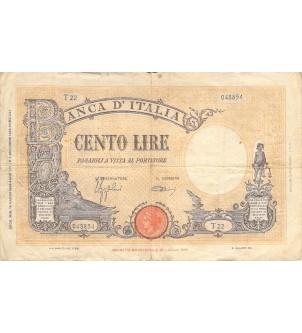 ITALIE - 100 LIRE 1942 /...