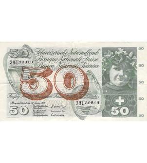 SUISSE - 50 FRANCS...