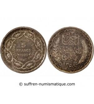 TUNISIE - ESSAI DE 5 FRANCS...
