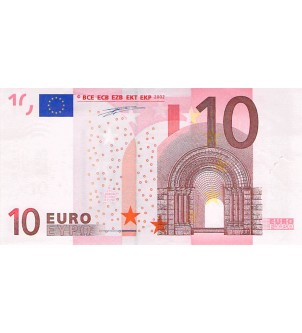 FRANCE - 10 EUROS 2002...