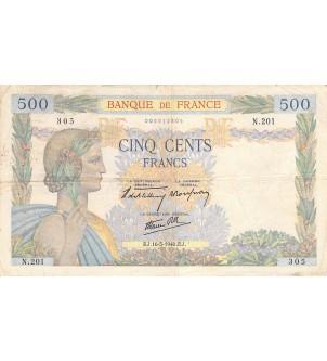 FRANCE, LA PAIX - 500...