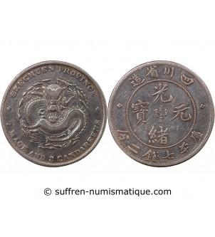 CHINE, SZECHUEN - 1 DOLLAR...