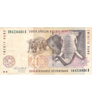 AFRIQUE DU SUD - 20 RAND...