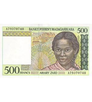 MADAGASCAR - 500 FRANCS...