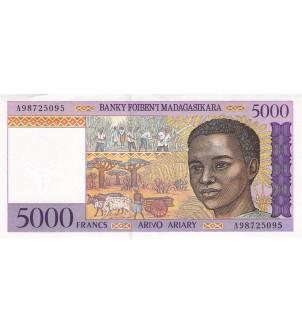 MADAGASCAR - 5000 FRANCS...