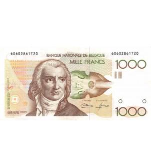BELGIQUE - 1000 FRANCS...