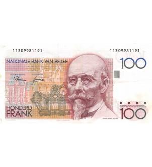 BELGIQUE - 100 FRANCS...