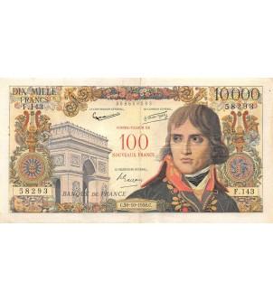 FRANCE - 100 NF / 10000 FRS...