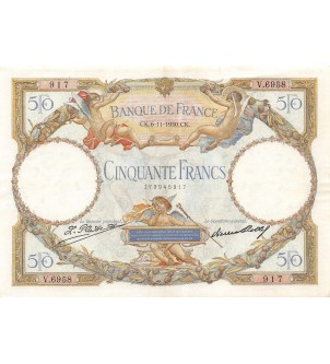 FRANCE - 50 FRANCS LOM Type...