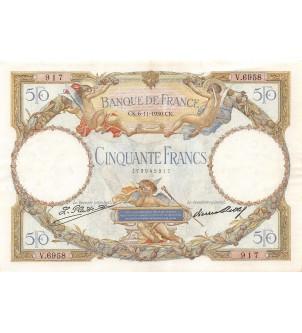 FRANCE - 50 FRANCS LOM Type...