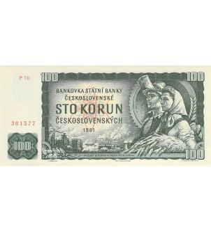 TCHECOSLOVAQUIE - 100 KORUN...