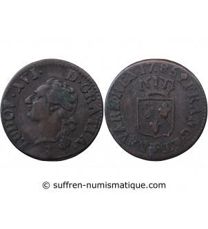 LOUIS XVI - LIARD 1785 T...