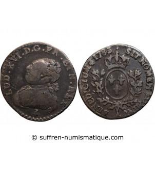 LOUIS XVI - 1/20 ECU 1783 A...
