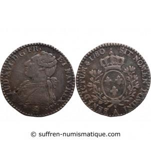 LOUIS XVI - 1/10 ECU 1780 A...