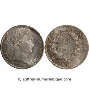 5 FRANCS NAPOLEON I  1810 A...