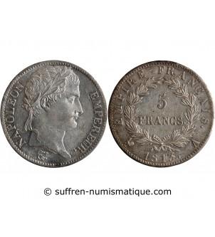 5 FRANCS NAPOLEON I  1813 A...
