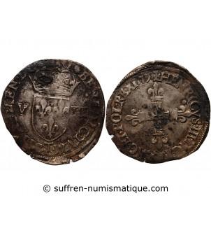 HENRI III - 1/8 ECU 1579 T...