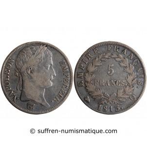 5 FRANCS NAPOLEON I  1813 Q...