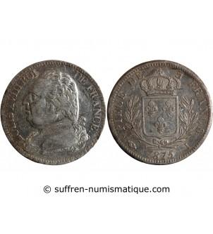 5 FRANCS LOUIS XVIII 1815 I...