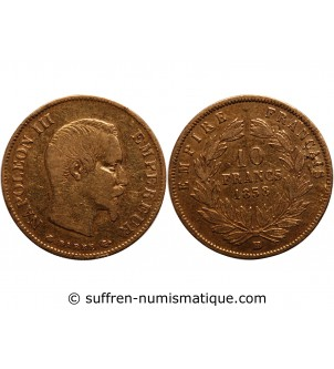 NAPOLEON III - 10 FRANCS OR...